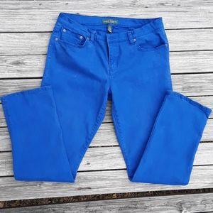 Lauren Jean's Co. Modern Straight Stretch Jeans